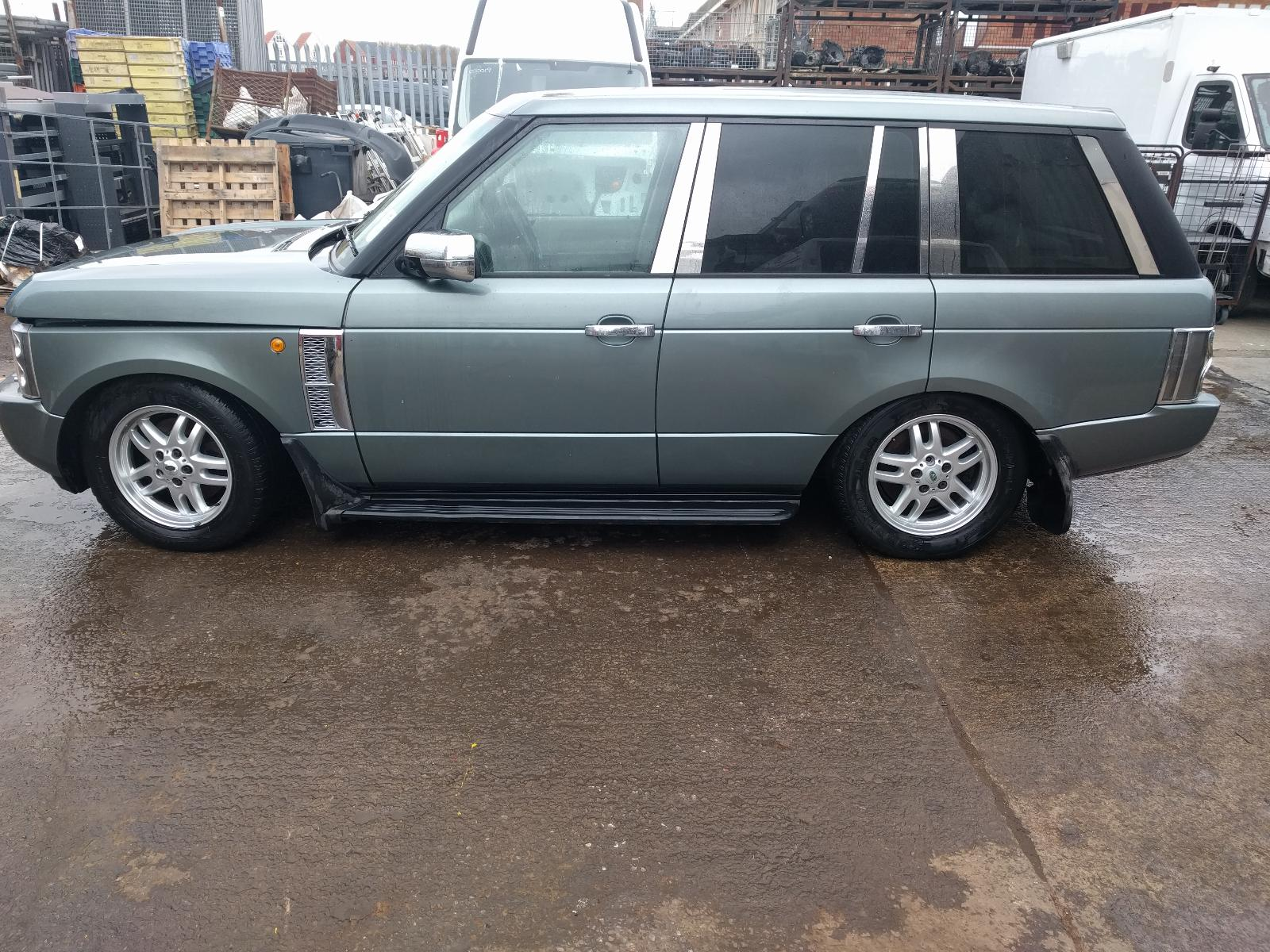 2002 land rover range rover hse td6 auto green spare repairs engine problem ebay. Black Bedroom Furniture Sets. Home Design Ideas